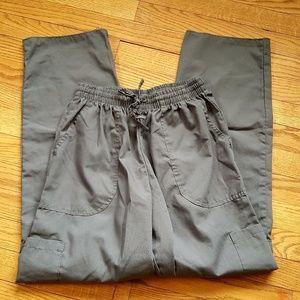 d97950ea055 Denise Women Scrub Uniform Work pants Grey Size M